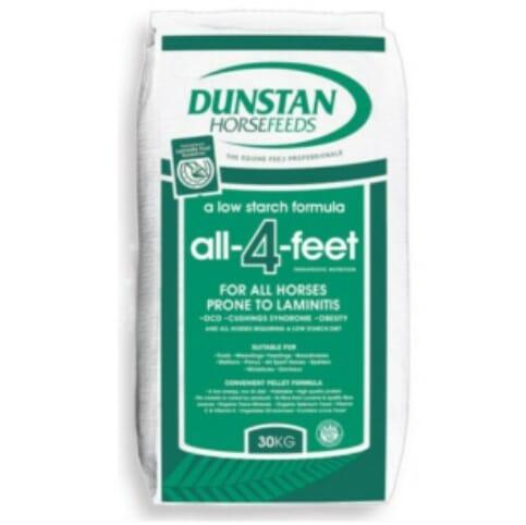 all 4 feet