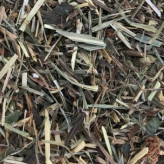 red clover chaff
